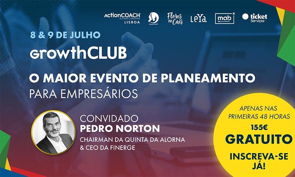 GrowthCLUB   O Maior Evento de Planeamento para Empresários
