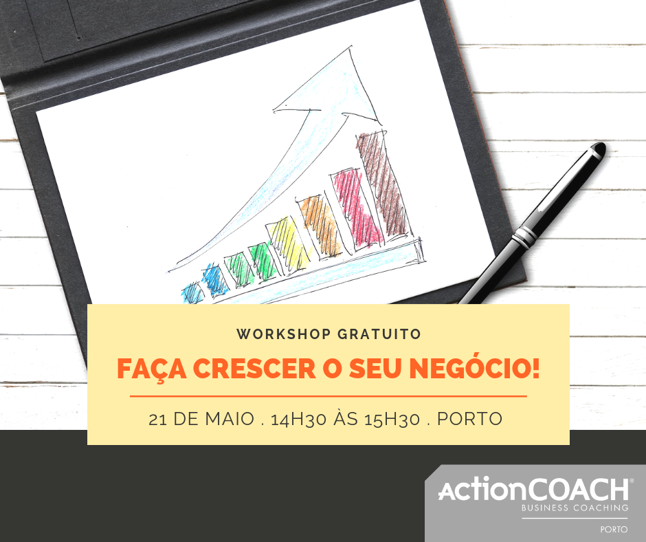 O Workshop GRATUITO de Business Plan.